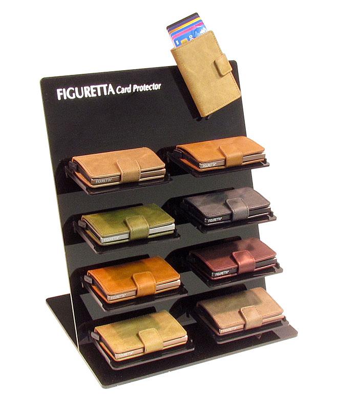 Display D voor presentataie van 8 Figuretta cardprotectors